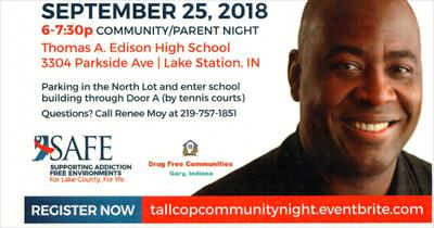 Tall Cop Jermaine Galloway Event